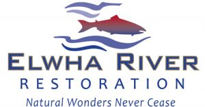 Elwha River Restoration logo by Laurel Black Design