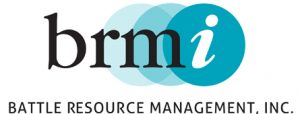 BRMI - Battle Resource Management, Inc - logo design by Laurel Black Design