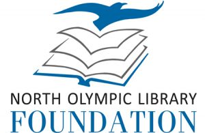 North Olympic Library System (NOLS) logo design by Laurel Black Design