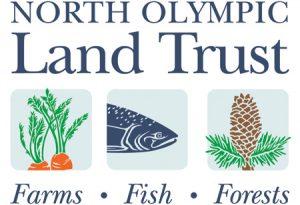 North Olympic Land Trust (NOLT) logo design by Laurel Black Design