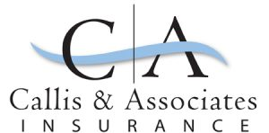 Callis & Associates Insurance logo design by Laurel Black Design