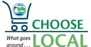 Choose Local logo design by Laurel Black Design
