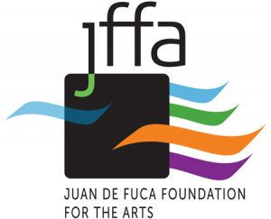 Juan de Fuca Foundation for the Arts logo by Laurel Black Design