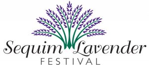 Sequim Lavender Festival logo by Laurel Black Design