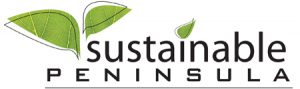 Sustainable Peninsula logo design by Laurel Black Design