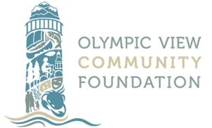 Olympic View Community Foundation logo design by Laurel Black Design