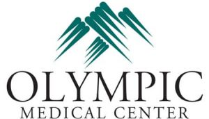 Olympic Medical Center logo design by Laurel Black Design