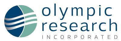 Olympic Research Inc logo by Laurel Black Design