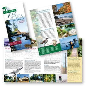 Tourism Brochure by Laurel Black Design