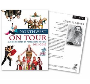 Arts Northwest Directory by Laurel Black Design