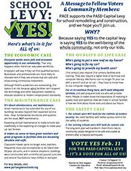 School Levy: Vote Yes!