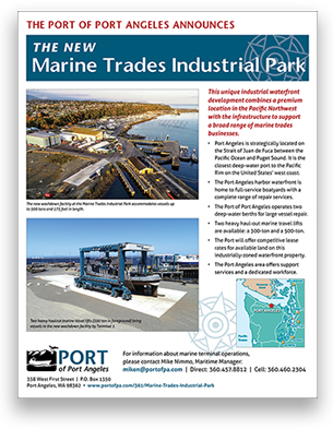 Marine Trade Industrial Park handout