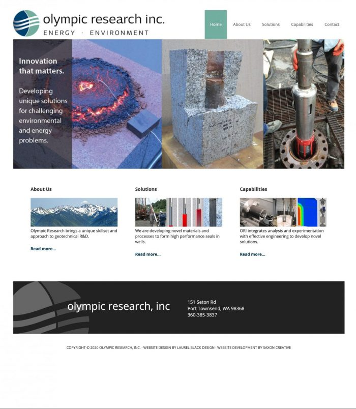 Olympic Research, Inc.